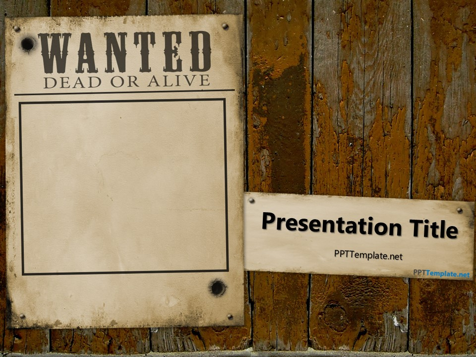 facebook presentation template
