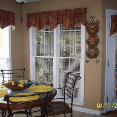 Kitchen Swag Curtains Stone Sinks Como Lined Scalloped Valance Cinnabar Stylemaster Valances