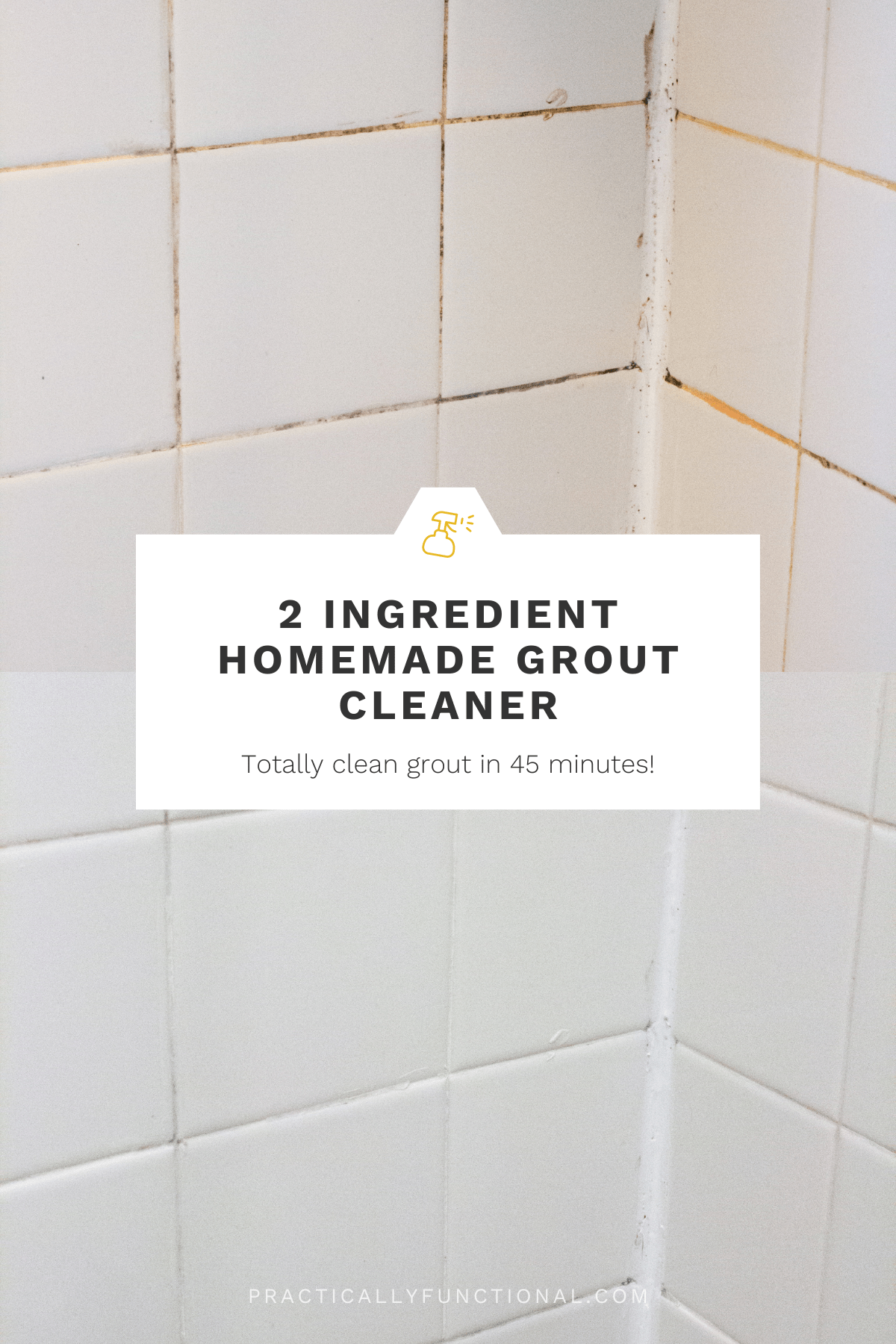 how to clean grout with a homemade