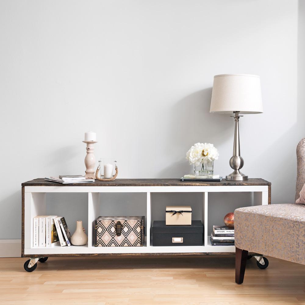 fabriquer un meuble de style rustique