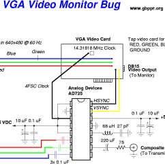 Vga To Av Cable Wiring Diagram 2002 Kia Spectra Stereo Video Monitor Transmitter