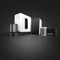 Sonos nueva familia con PLAYBASE negro