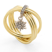 Pearls of Genesis H.Stern - ring in 18K gold and diamonds