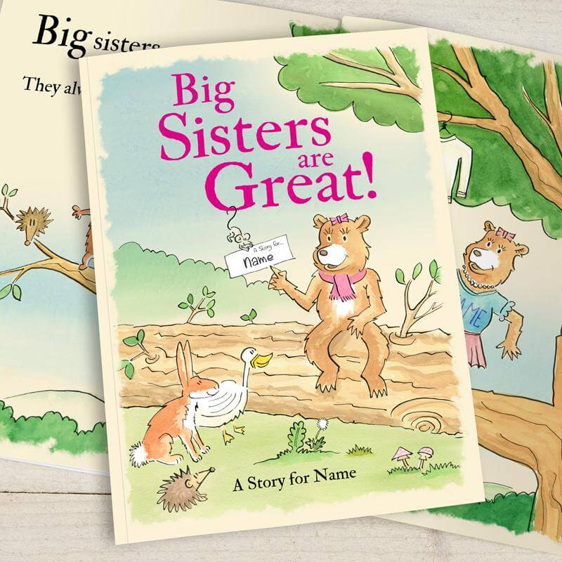 personalised big sisters are