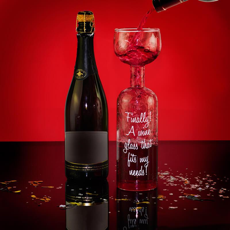Wine Bottle Glass Buy From
