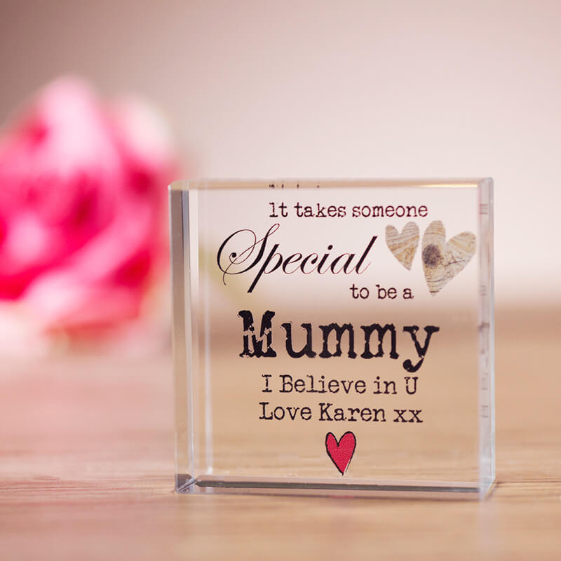 personalised someone special crystal