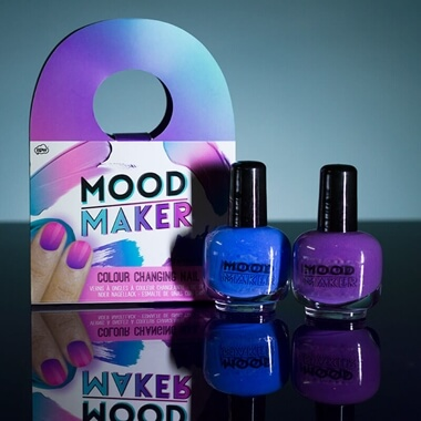 Mood Maker Colour Changing Nail Polish Purple