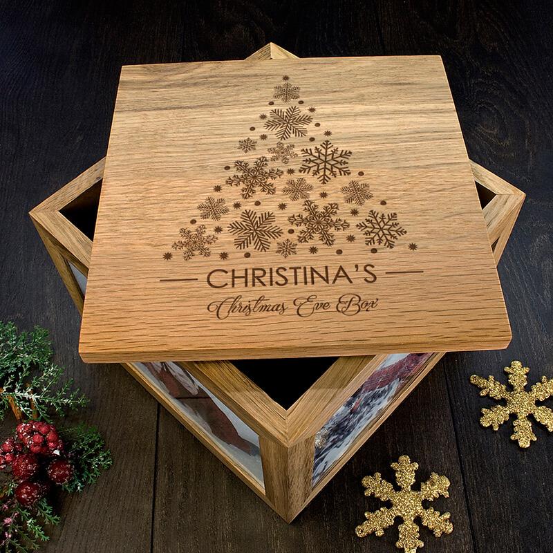 personalised christmas tree memory