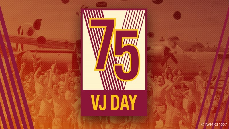 Havering marks the 75th anniversary of VJ Day with online celebrations: VJ Day banner