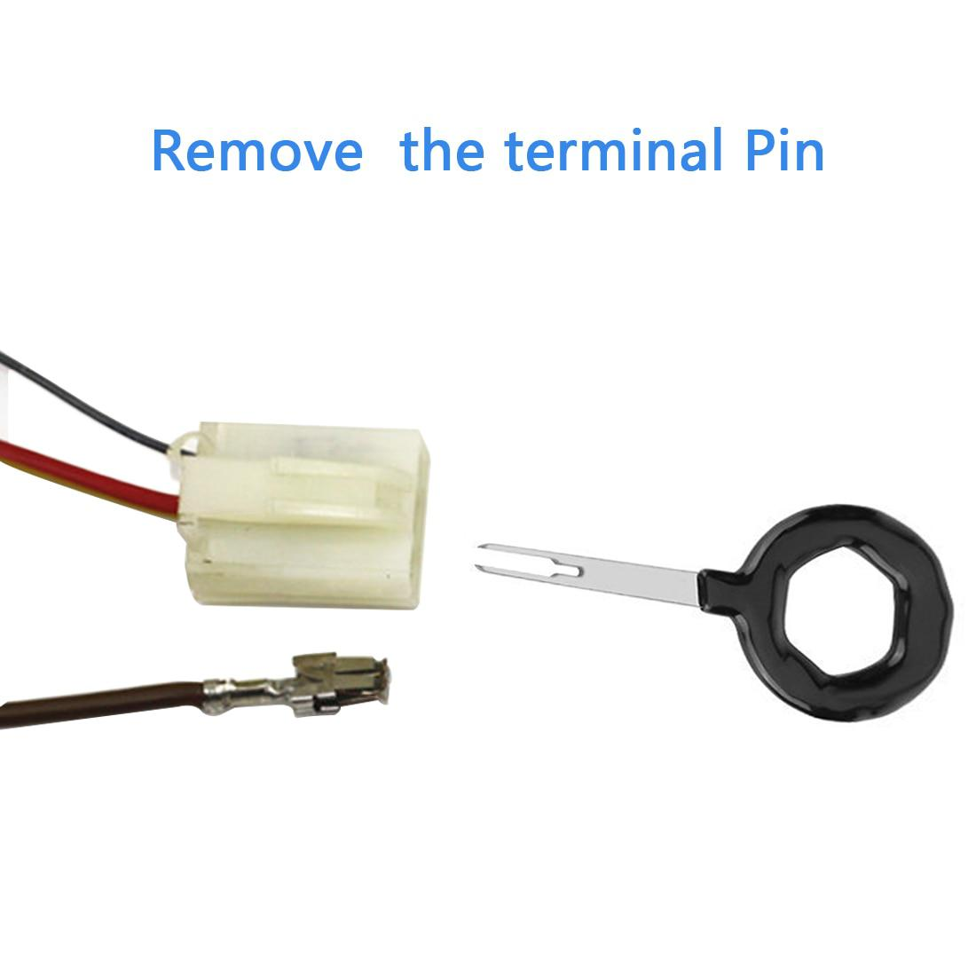 small resolution of terminal removal tool car repair tool electrical wiring crimp connector pin extractor