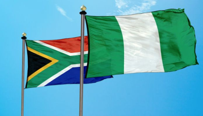 Image result for nigeria and south african flag