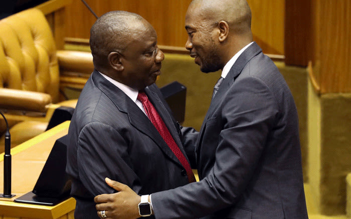 Image result for parliament photo malema 2018