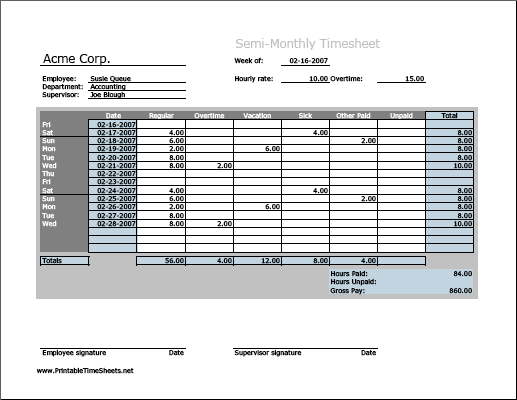 monthly work hours - April.onthemarch.co