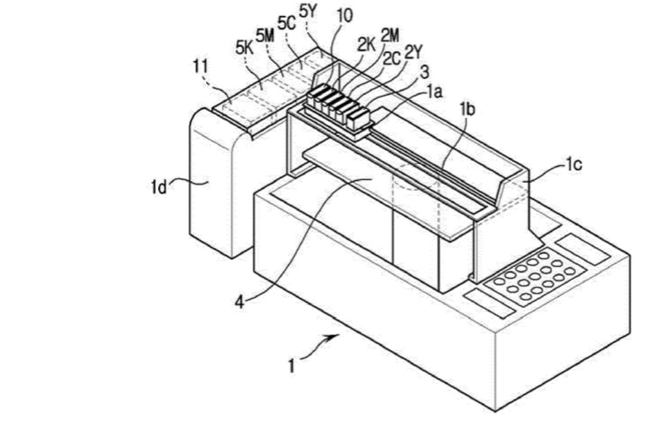 Samsung Files Patent for Multicolor 3D Printing