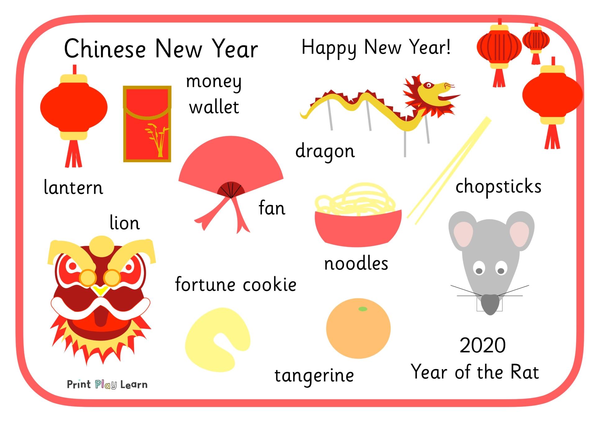 Chinese Word Mat