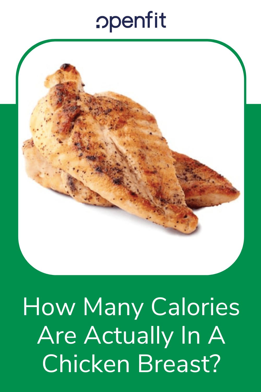Average Size Of Chicken Breast : average, chicken, breast, Calories, Actually, Chicken, Breast?, Openfit