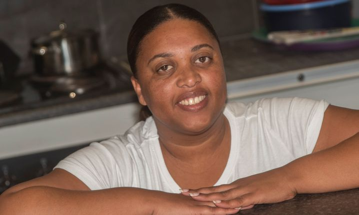 Michelle Davids, a policewoman in Cape Town, can no longer afford to feed her family vegetables.