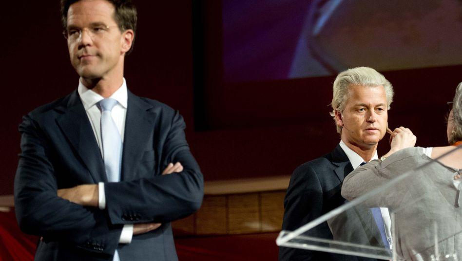 niederlande mark rutte schliesst koalition mit geert wilders aus der spiegel