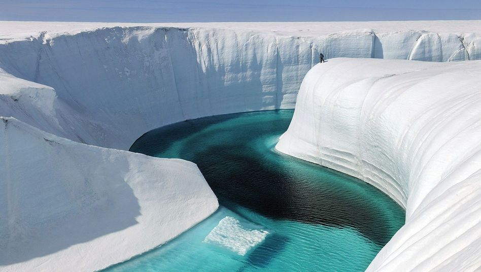 Grönland: So schaden Hitzesommer dem Eisschild - DER SPIEGEL