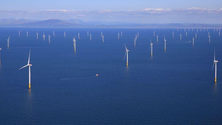 Meereswindpark von Ørsted