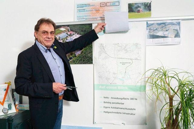 Mayor Arne Christiani: A field of dreams.