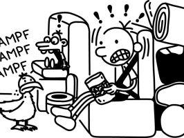 Tagebuch Eines Wimpy Kind Malvorlagen Zum Ausdrucken ...