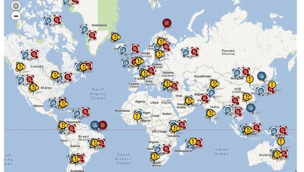 spiegel online startet interaktive weltkarte mit hunderten reisetipps der spiegel