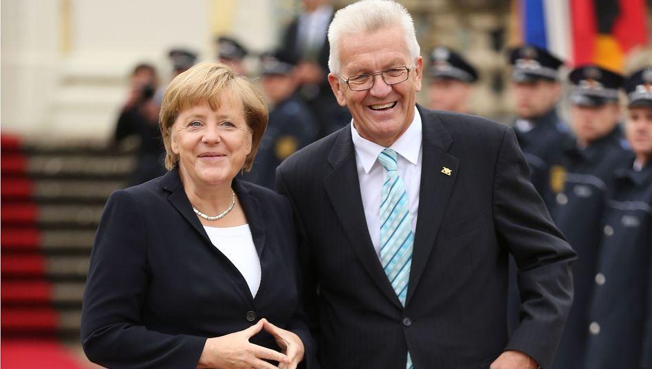 https www spiegel de politik deutschland gruene kretschmann soll mit merkel sondieren a 925570 html