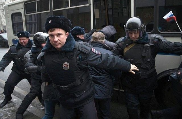 Navalny called for protest actions after he was barred from running for president in the 2018 election.