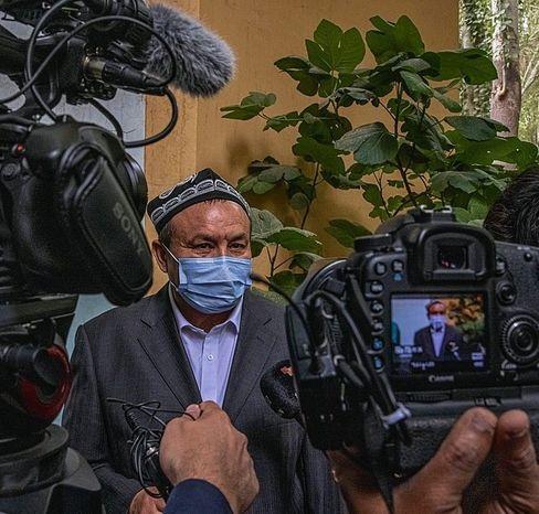 Cleric Muhammat in Kashgar