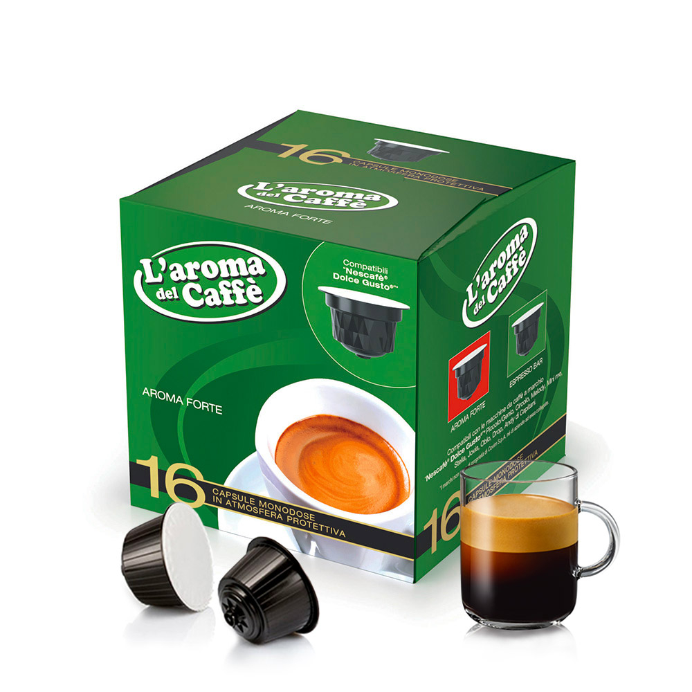 Capsules Dolce Gusto C2 Ae Compatibles 128 Capsules De Cafe Melange Dolce Gusto Compatible Alliance Aroma Forte