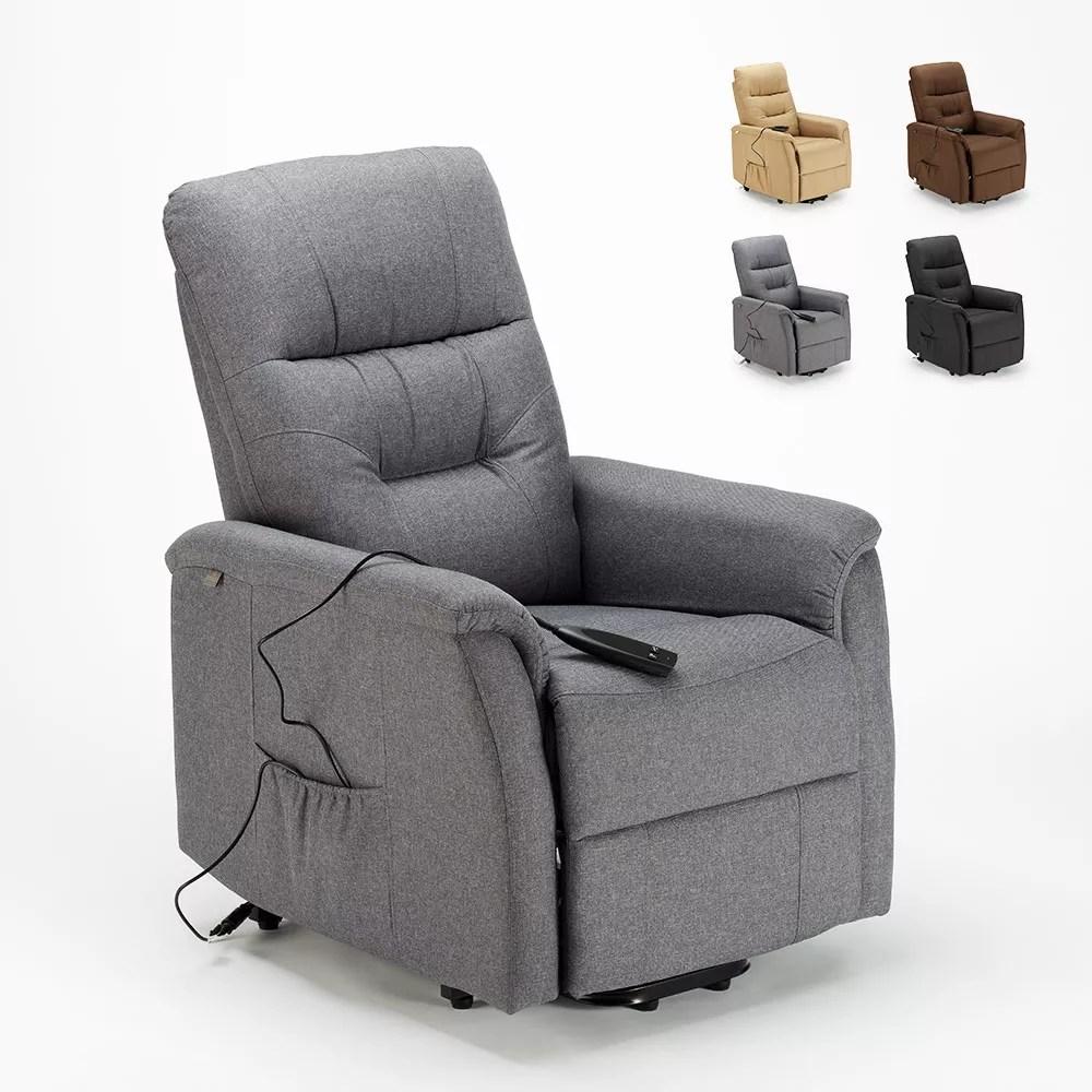 fauteuil relaxation electrique inclinable avec leve personne marie pour senior