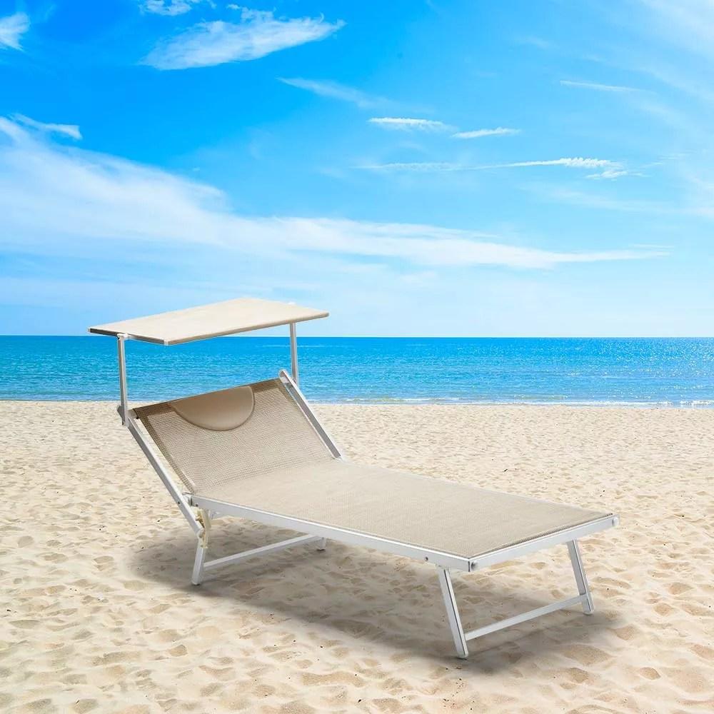 lot de 20 pieces lits plage bains de soleil xl professionnels italia xl