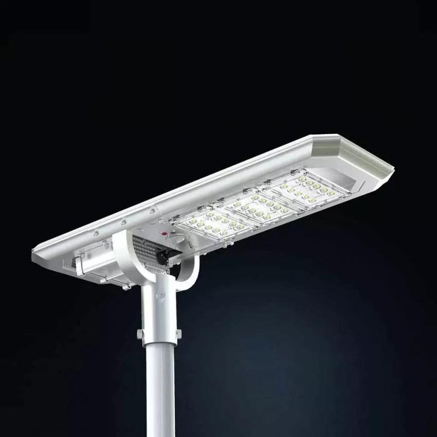 Eclairage Exterieur Avec Panneau Solaire Integre