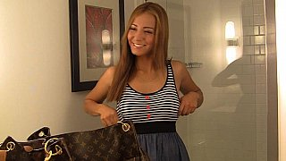 Spoiled 19 yo latina.., Bella. College girl Preview Image