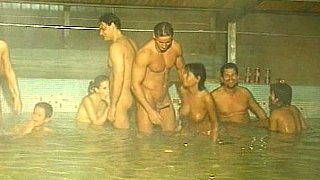 5 on 5 orgy in the Pool. Fisting. Peeing. Preview Image
