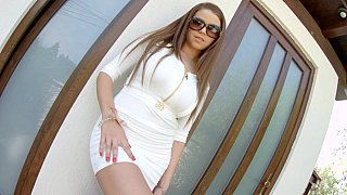 Marina Visconti in upskirt teasing Preview Image