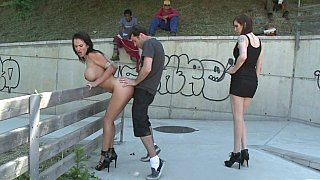 Franceska Jaimes is Publicly Caned and Fucked Preview Image