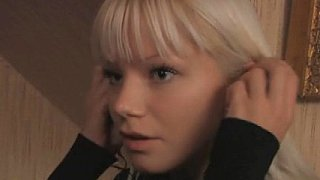 Cute blonde Swedish teen and her boyfriend Preview Image