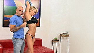 Fucked right in front of her husband Preview Image