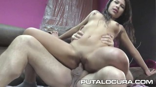 PUTA LOCURA Cute Busty Teen picked up Preview Image