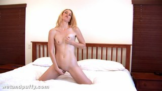 Homemade bedroom masturbation from fun loving wife Preview Image