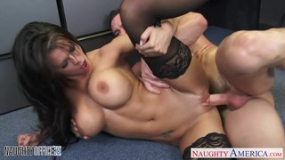 Chesty office babe Peta Jensen fucking Preview Image