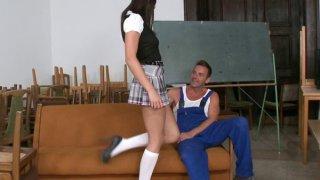 Horny Schoolgirl Preview Image