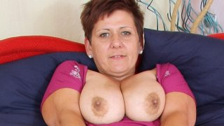 Amateur mom with big natural boobs Preview Image