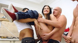 A group of builders Hard Fucked Woman Preview Image