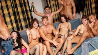 Hard student anal sex at B-day fuck party Preview Image