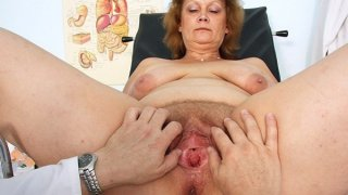 Hairy fat mom gets harrassed by gynecologist Preview Image