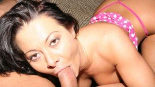 Sandra Romain proves that she sucks cock good Preview Image