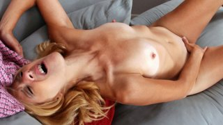 Petite blonde cougar_cums hard Preview Image